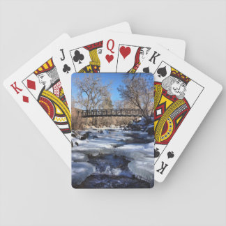 Colorado winter playing cards