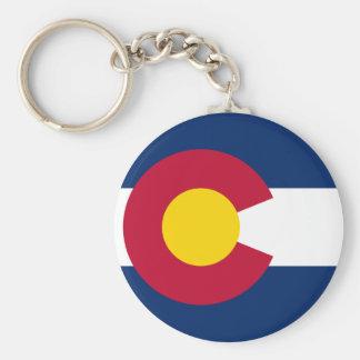 Colorado's Flag Keychain