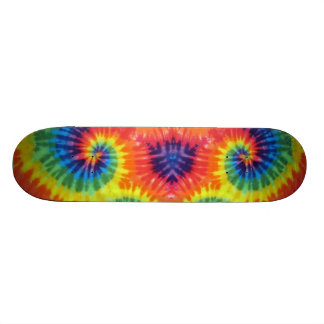 colorant de cravate plateau de skateboard