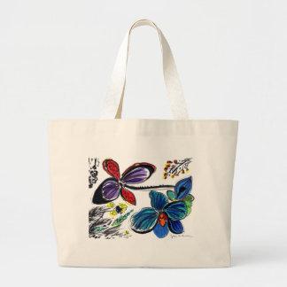 ColorBlackorchids Bag