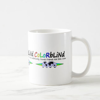 Colorblind Diversity Counts Friends Not Skin Color Mugs