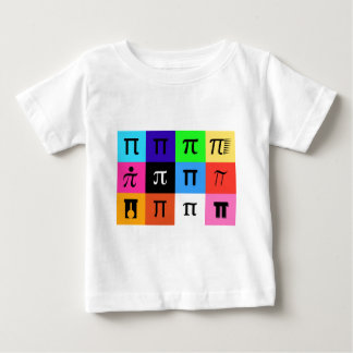 colorblock happy pi day baby T-Shirt