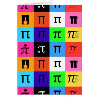colorblock happy pi day card