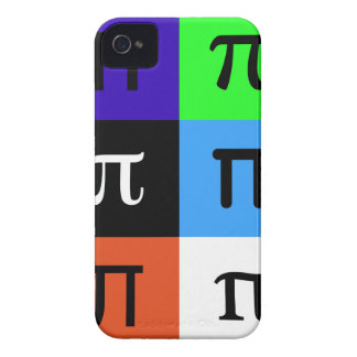 colorblock happy pi day iPhone 4 Case-Mate case