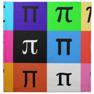 colorblock happy pi day napkin