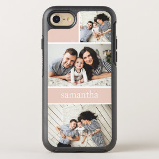 Colorblock Photo Collage Personalized OtterBox Symmetry iPhone 8/7 Case