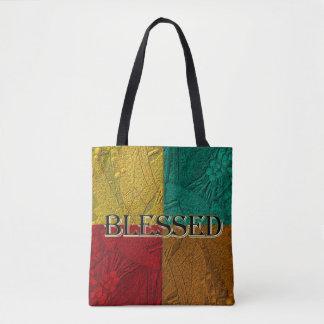 Colorblock Tote bag