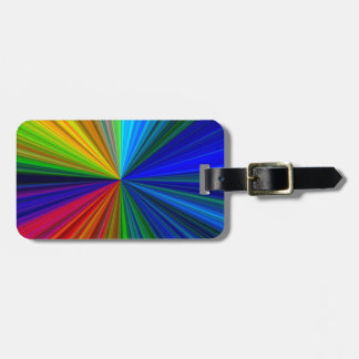 colorburst luggage tag