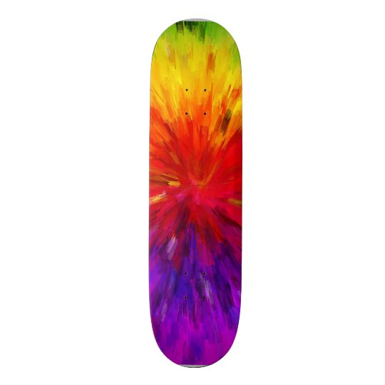 Colorburst Skateboard
