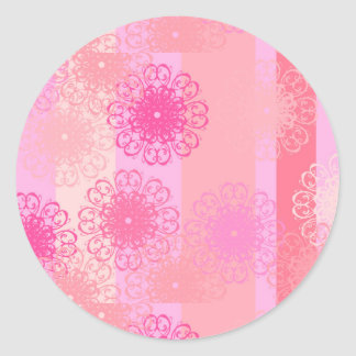 coloré classic round sticker