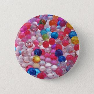 colore jelly balls texture 2 inch round button
