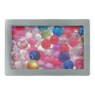 colore jelly balls texture belt buckle