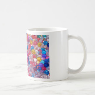 colore jelly balls texture coffee mug