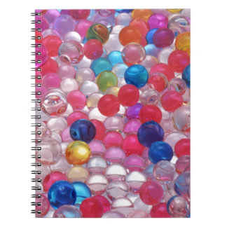 colore jelly balls texture notebook