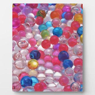 colore jelly balls texture plaque