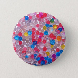 colore water balls 2 inch round button