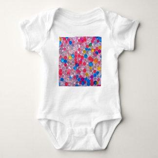 colore water balls baby bodysuit