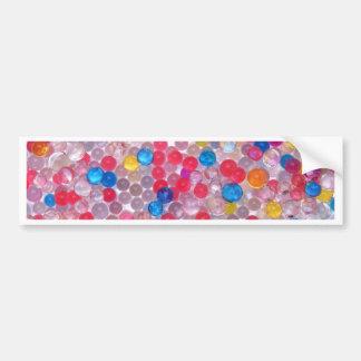 colore water balls bumper sticker