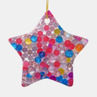 colore water balls ceramic ornament