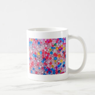 colore water balls coffee mug