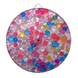 colore water balls dartboard