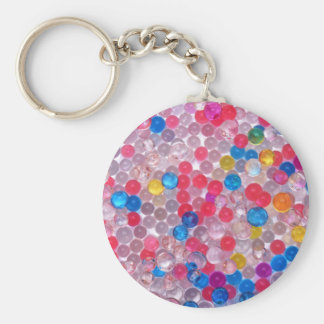 colore water balls keychain