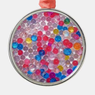 colore water balls metal ornament