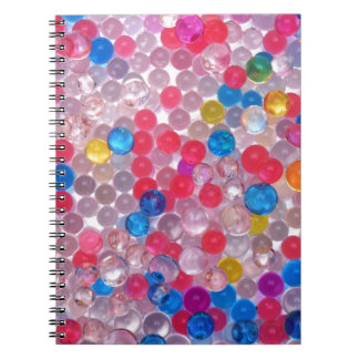 colore water balls notebook