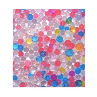 colore water balls notepad