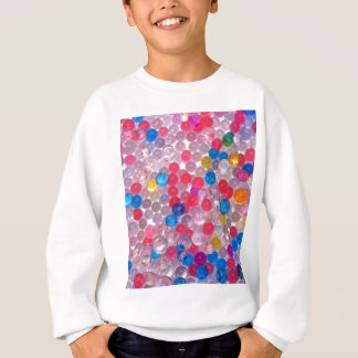 colore water balls sweatshirt