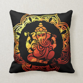 Colored 12 Meditation Throw Pillow