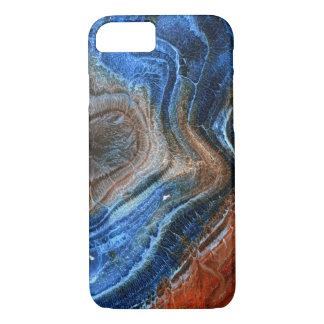 Colored Agate Mineral Stone Nacre iPhone 7 Case
