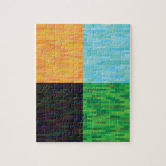 colored background jigsaw puzzle