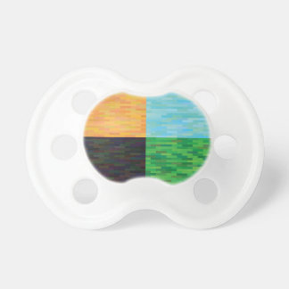 colored background pacifier