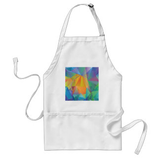 colored background standard apron