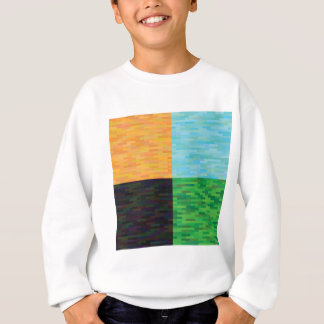 colored background sweatshirt