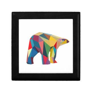 Colored Bear Gift Box