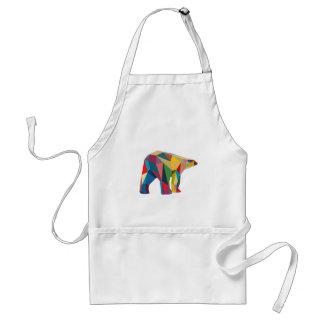 Colored Bear Standard Apron