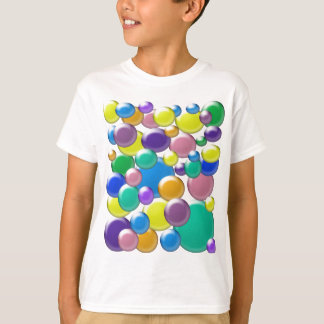 Colored Bubbles Kid's Shirt