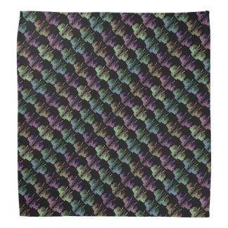 Colored Bunnies Pattern Bandana