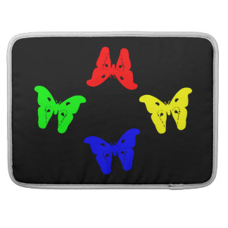 Colored Butterflies Sleeve For MacBook Pro