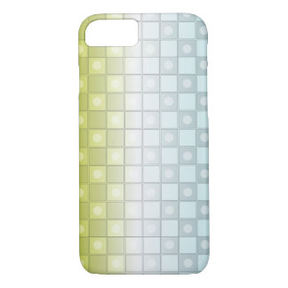 Colored Checkers Pattern iPhone 7 Case