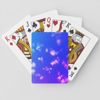 Colored Clouds Playing Cards