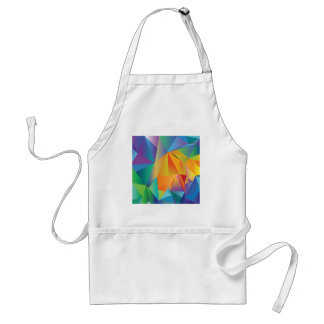 colored crystal standard apron