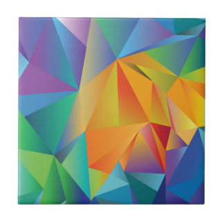 colored crystal tile