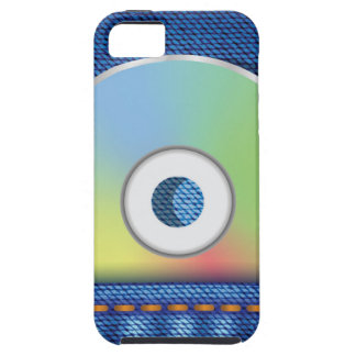 Colored disc case for the iPhone 5