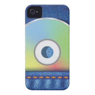 Colored disc iPhone 4 cover