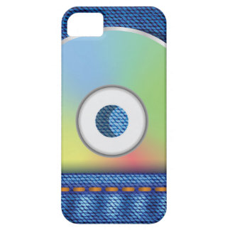 Colored disc iPhone 5 cover