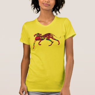 Colored Dog Paws T-Shirt