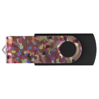 Colored Dots USB Flash Drive